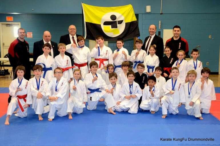 Un mois de mars chargé pour l'équipe de compétition karaté kungfu